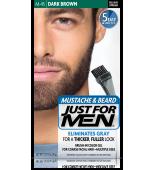 JUST FOR MEN - ZA BRKE IN BRADO barva: temno rjava črna M45