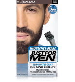 JUST FOR MEN - ZA BRKE IN BRADO barva: prava črna M55